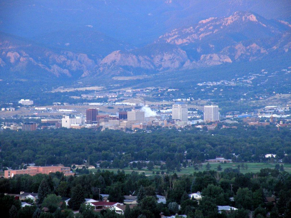 Palmer Park Makes Living In Colorado Springs Grand