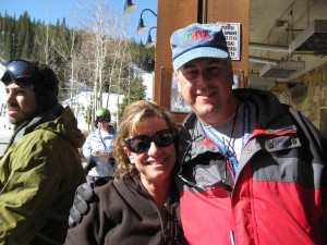 Rick and Holly at Copper