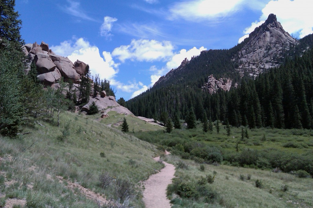 The Crags Trail