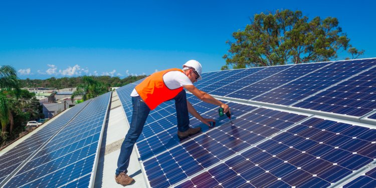 Solar panel savings