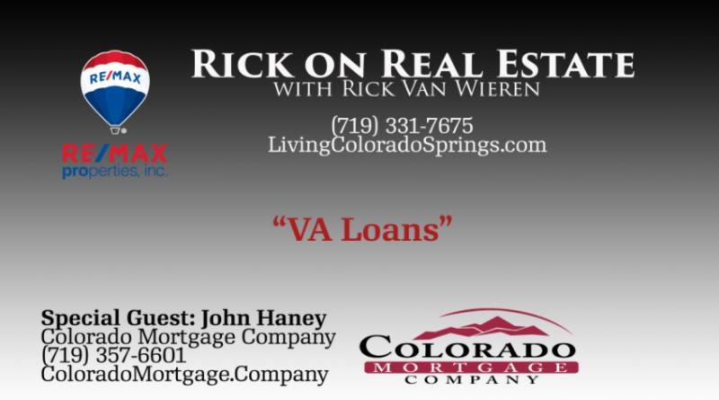VA Loans Colorado Springs