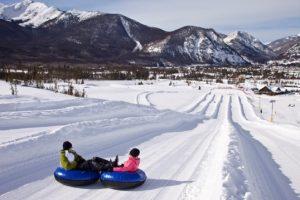 Snow tubing Colorado