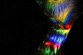 Lights at Seven Falls