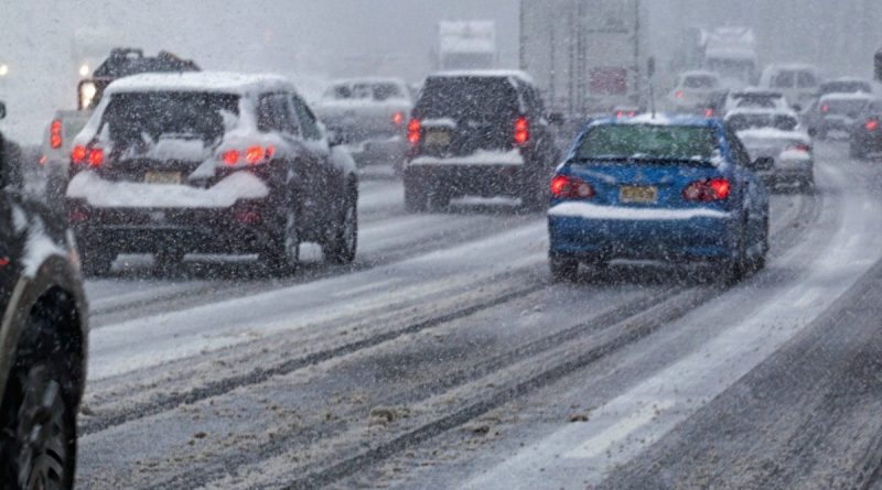 Driving in Snow Colorado Springs