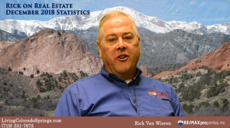 Rick on Real Estate December 2018 Statistics Colorado Springs