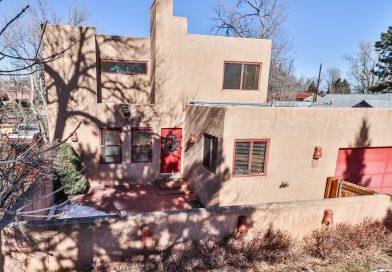 Southwest Style Home Near Cheyenne Mountain