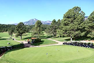 Eisenhower Golf USAFA Colorado Springs
