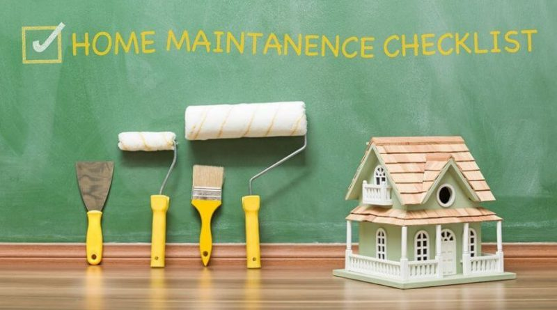 Home Maintenance and Repairs