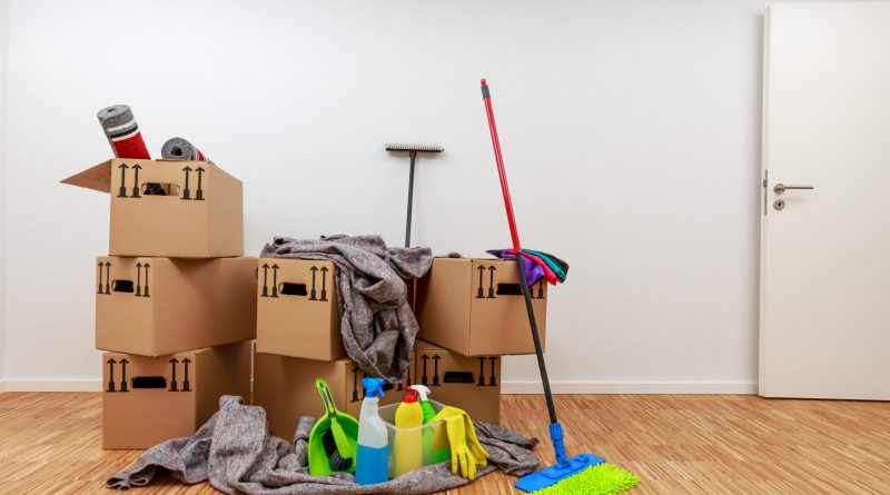 Move Out Cleaning Checklist