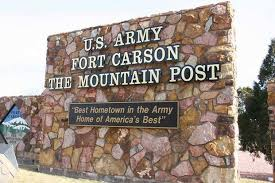 Fort Carson in Colorado Springs