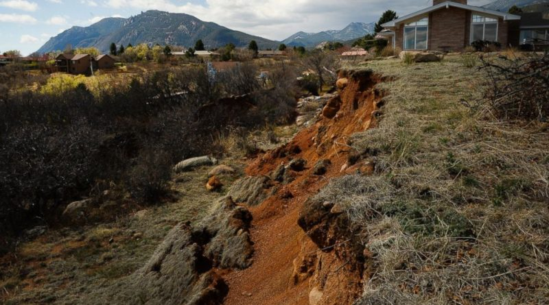 Geological Hazards and Landslides Colorado Springs