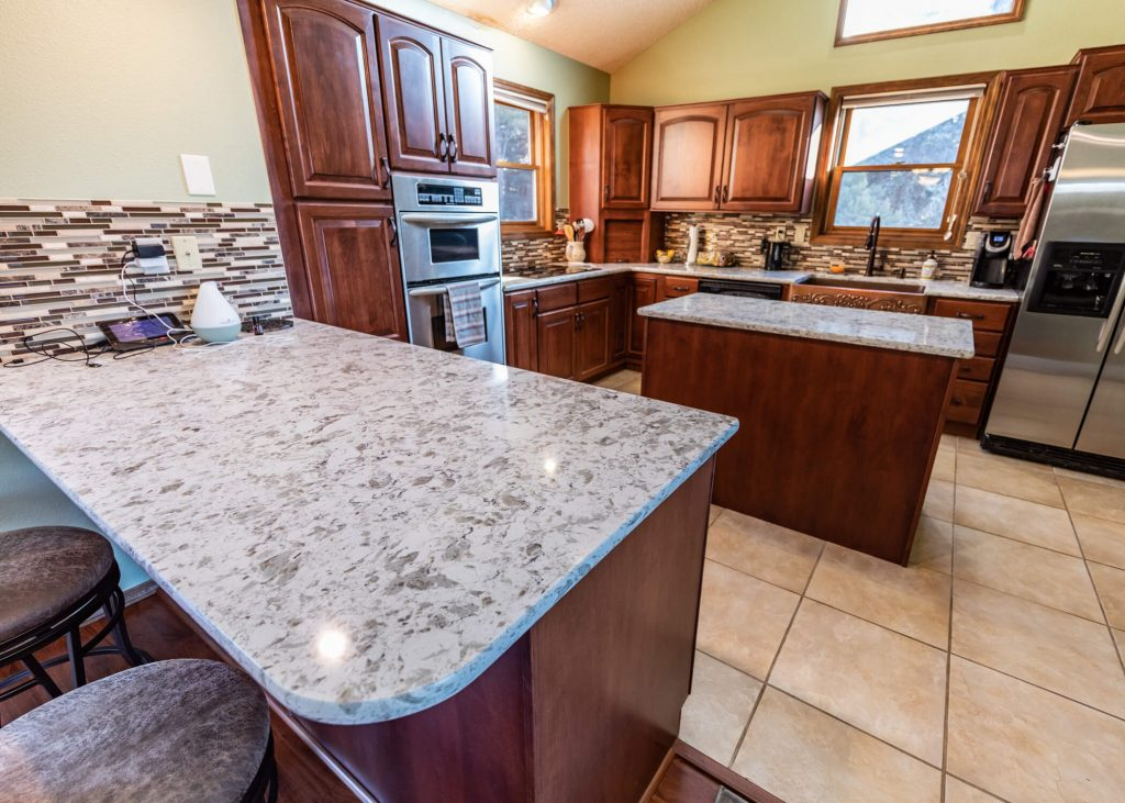 Kitchen at 920 Lake Woodmoor Drive home for sale in Monument C)