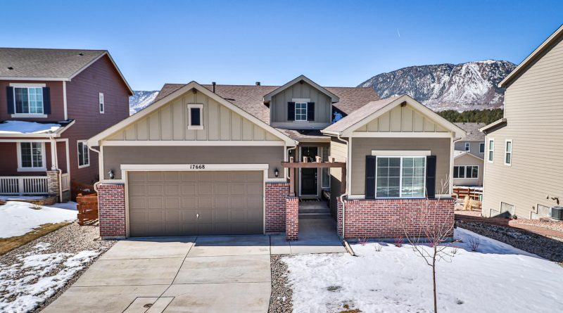 17668 Lake Overlook Court for Sale in Monument CO