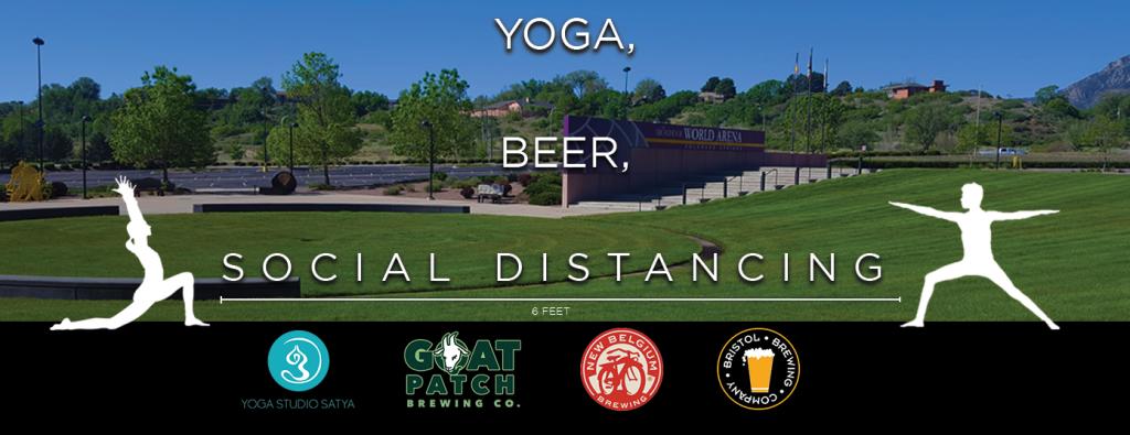 Yoga and Craft Beer at Broadmoor World Arena